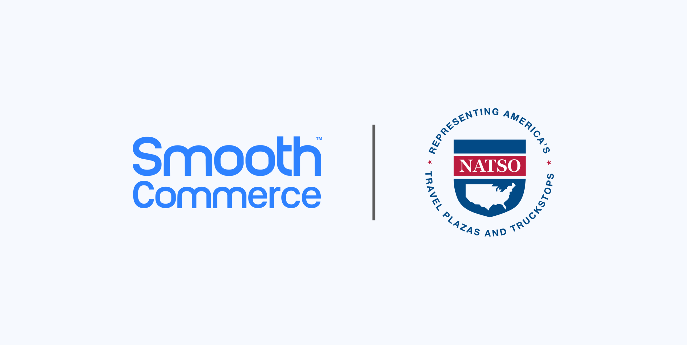 Smooth Commerce and NATSO logos