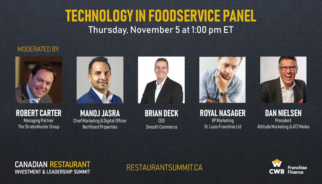 Canadian Restaurant Investment and Leadership Summit - Technology Panel