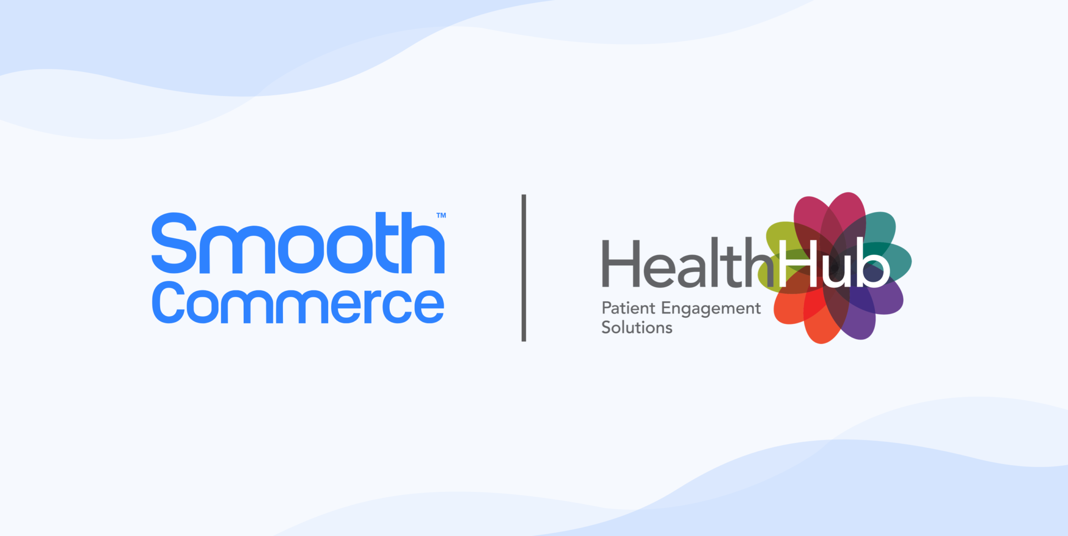 Smooth Commerce and HealthHub logos